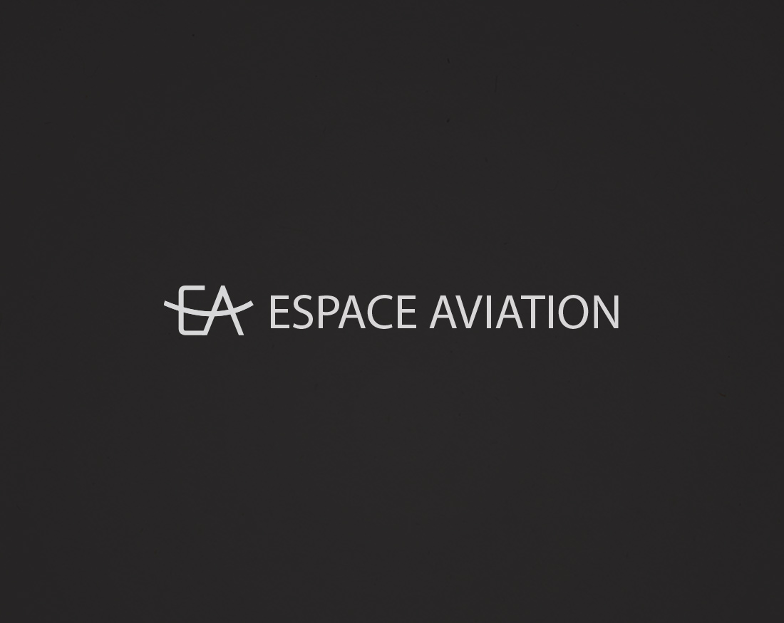 Logo Espace Aviation by Mariana Alt